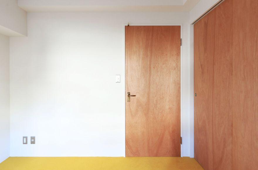 オーダーフラッシュドアは サイズオーダーが可能な木製のフラッシュ