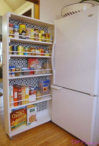 The BEST pantry organization idea! #kitchen
