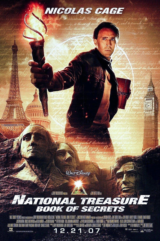 National Treasure Book Of Secrets 2007 Jon Turteltaub Dir The Secret Book National Treasure Full Movies Online Free