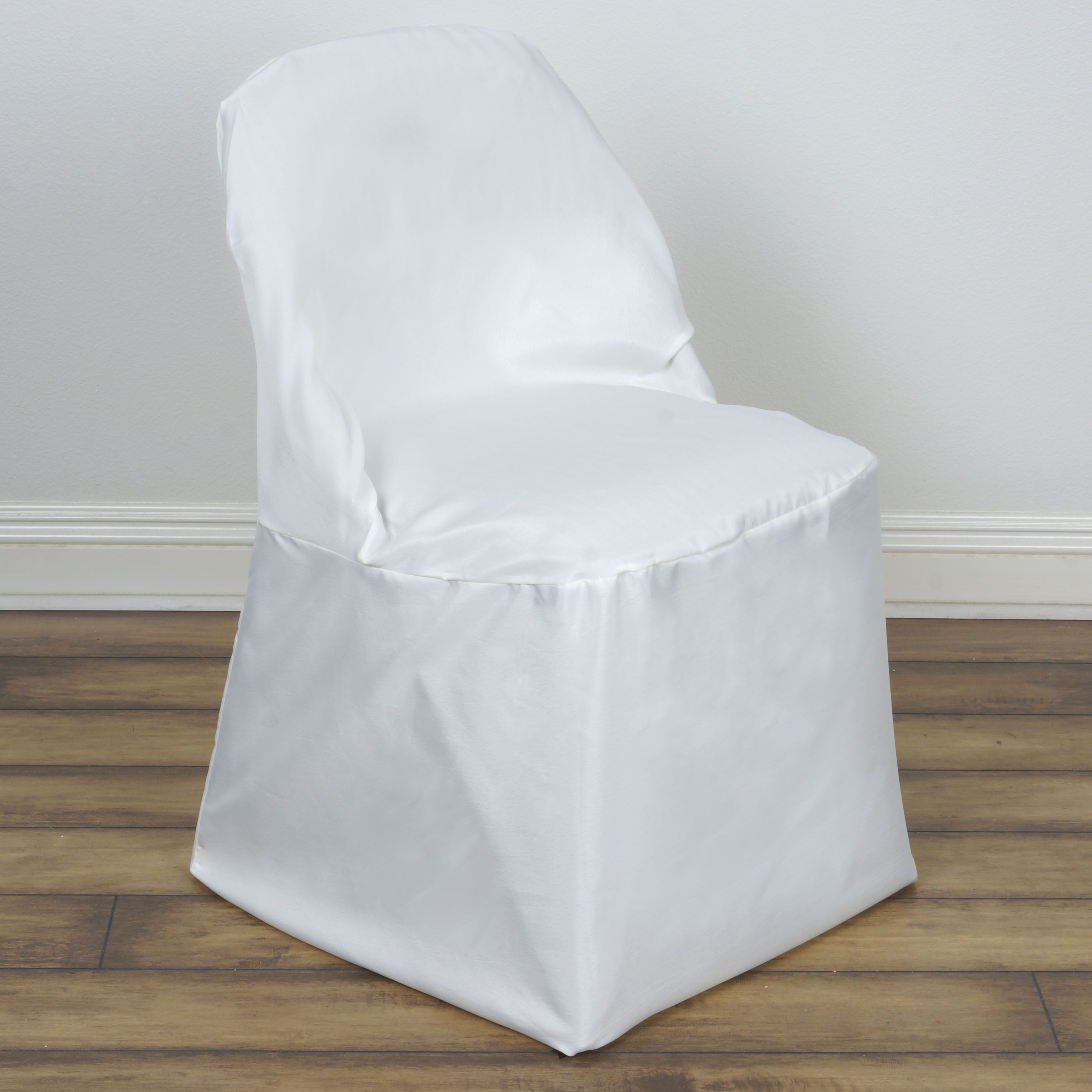 Chair Covers In Bulk Rolling Dining Chairs With Arms 100 Pcs Polyester Round Folding Wholesale Discount Wedding Supplies