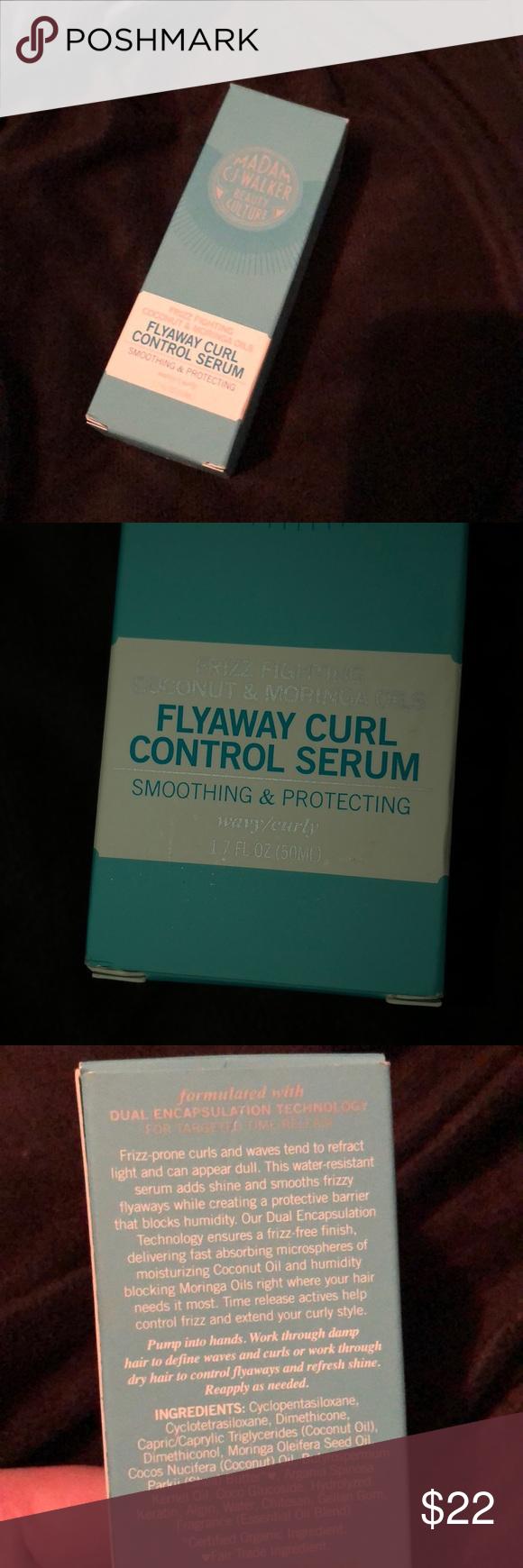 Madam CJ Walker beauty culture curl serum 1.7 oz NEW IN