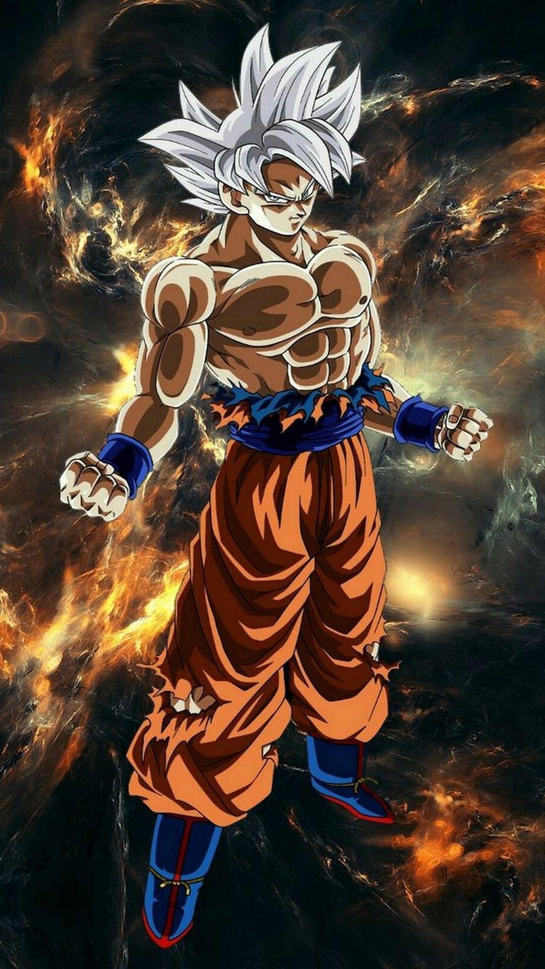 Android Dragon Ball Super Goku Wallpaper in 2020 Dragon