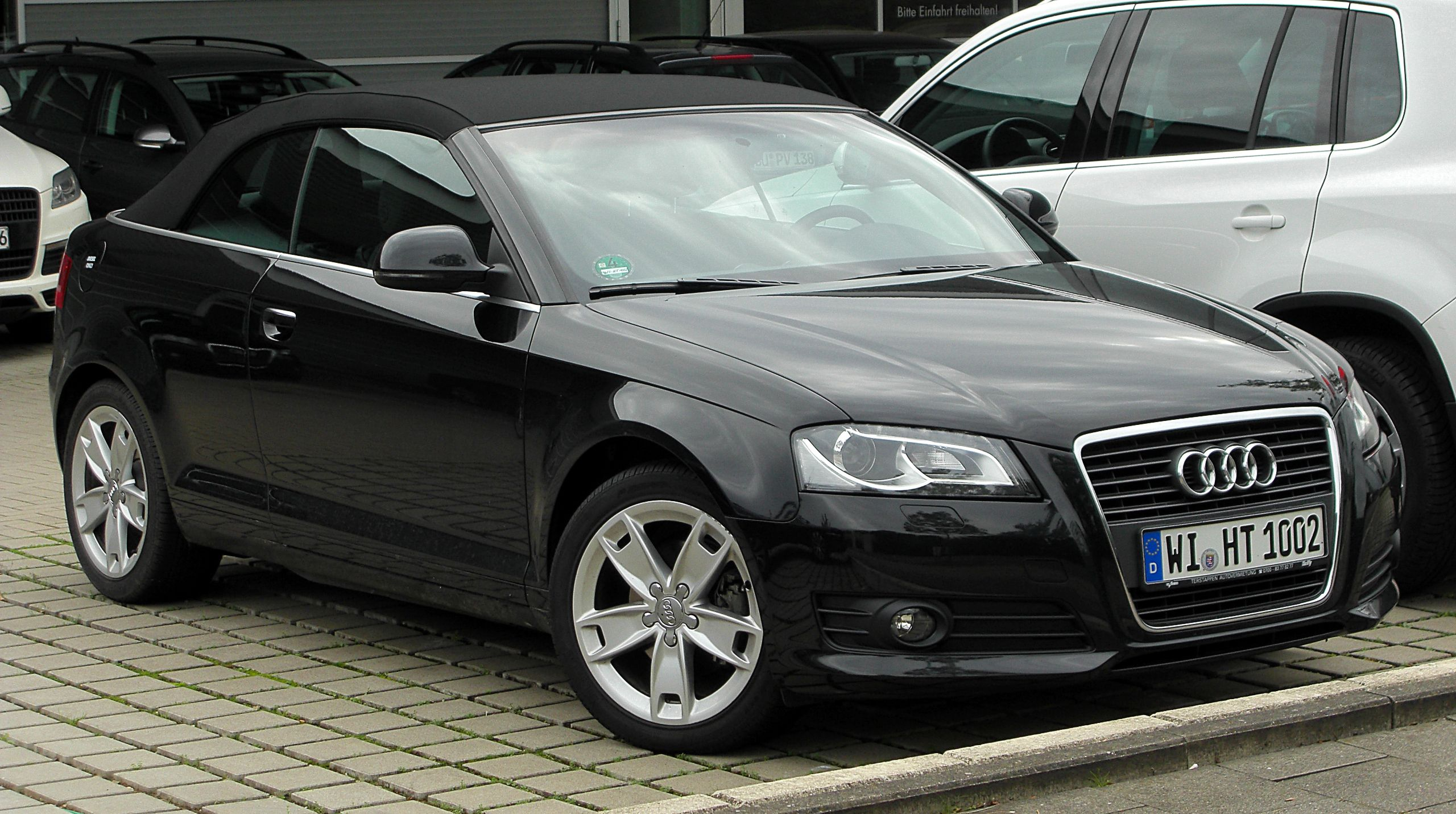 Audi 3 convertable audi a3 convertible black picture wallpaper audi