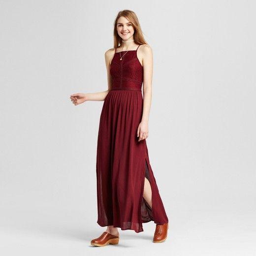Womens Lace Apron Maxi Dress Self Esteem Juniors Target J