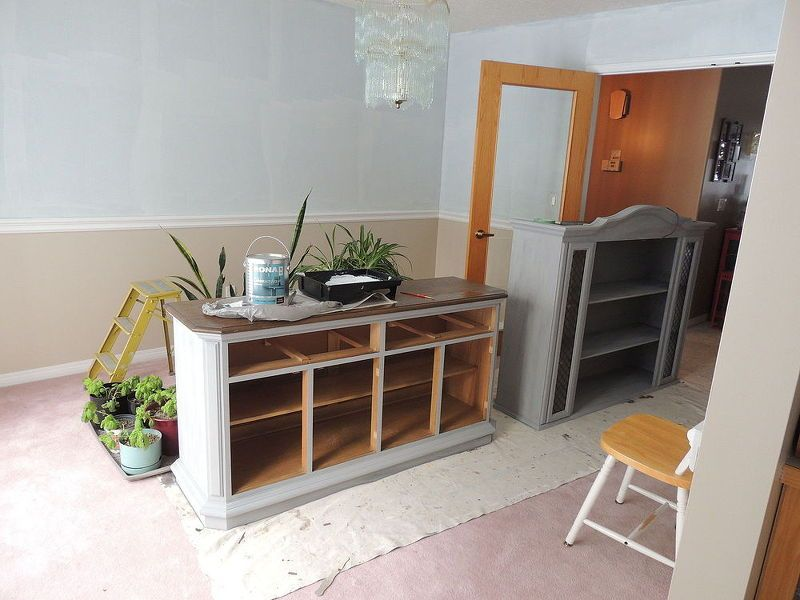 1950 s dining set makeover chalk paint
