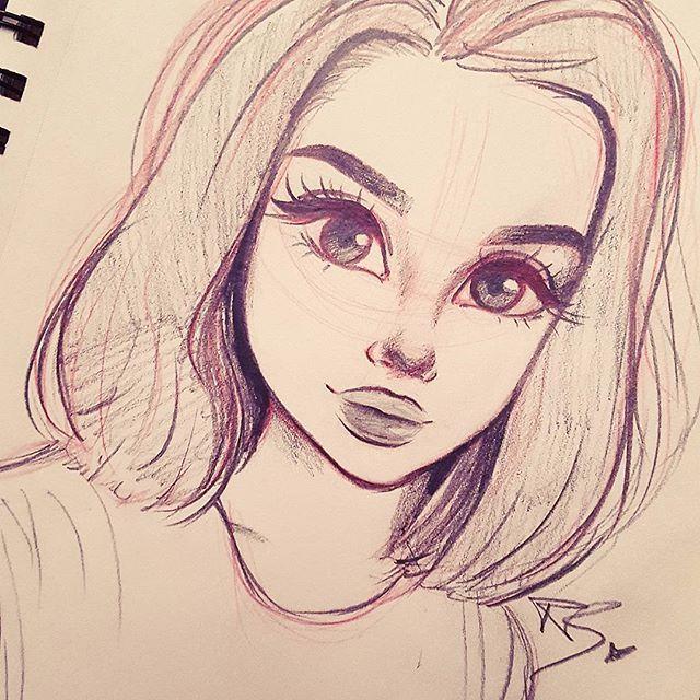 Dit is gemaakt door een meisje van 11 jaar menke for Really cool drawing ideas