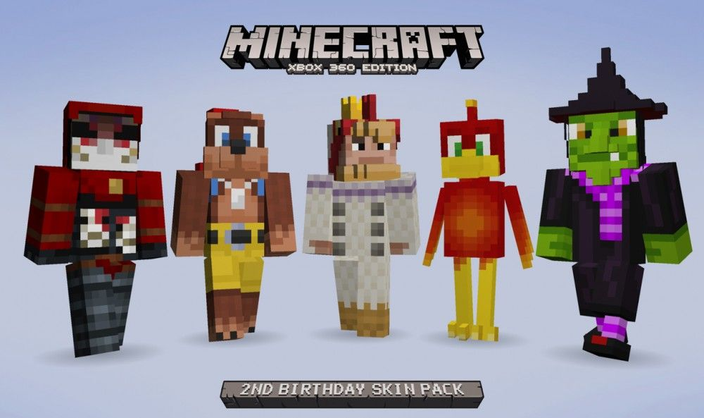 A Rare Birthday Return to Minecraft - 2nd Birthday Pack