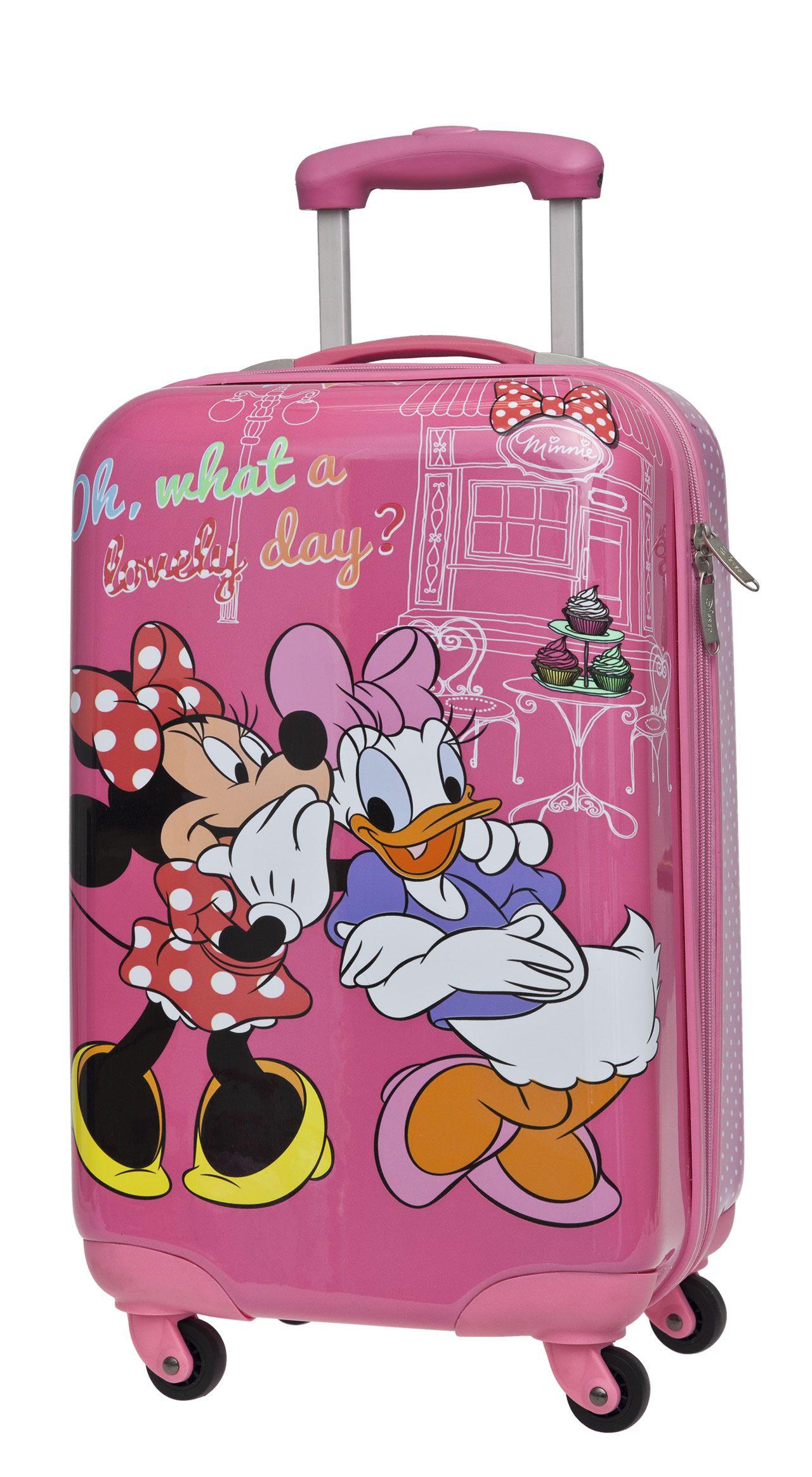 74e176f3818fa Minnie Y Daisy, Minnie Mouse, Bolso Disney, Daisy Duck, Carry On Luggage