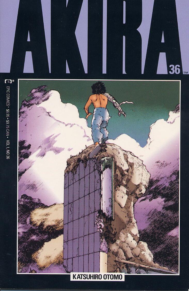 Akira 36 Akira Akira Comics Katsuhiro Otomo