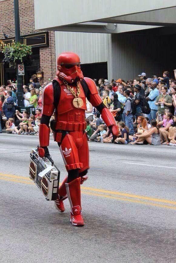 Old school hip hop Stormtrooper