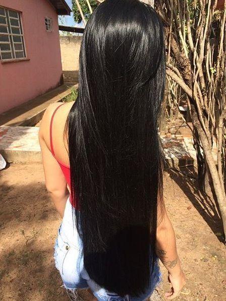 Peinados Para Cabello Largo Y Negro Cortes De Pelo Elegantes 2018