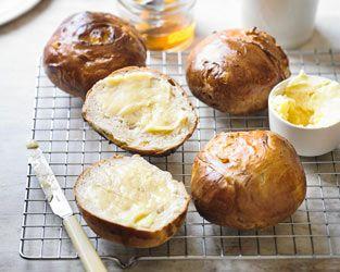 Martha Collison's lemon & ginger teacakes with honey ...