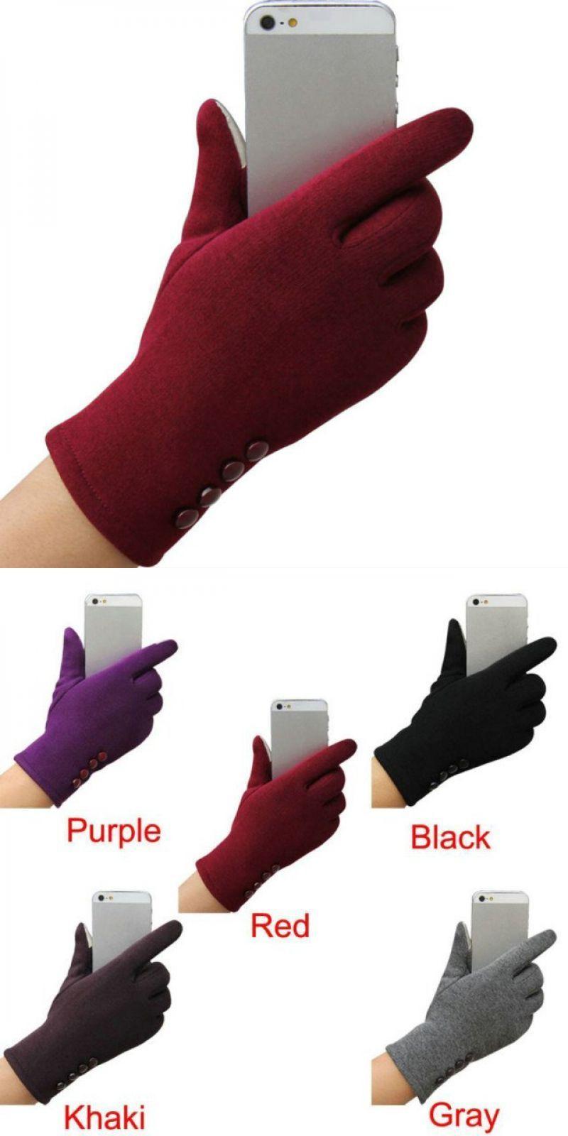 Fashion Womens Winter Outdoor Sport Warm Gloves