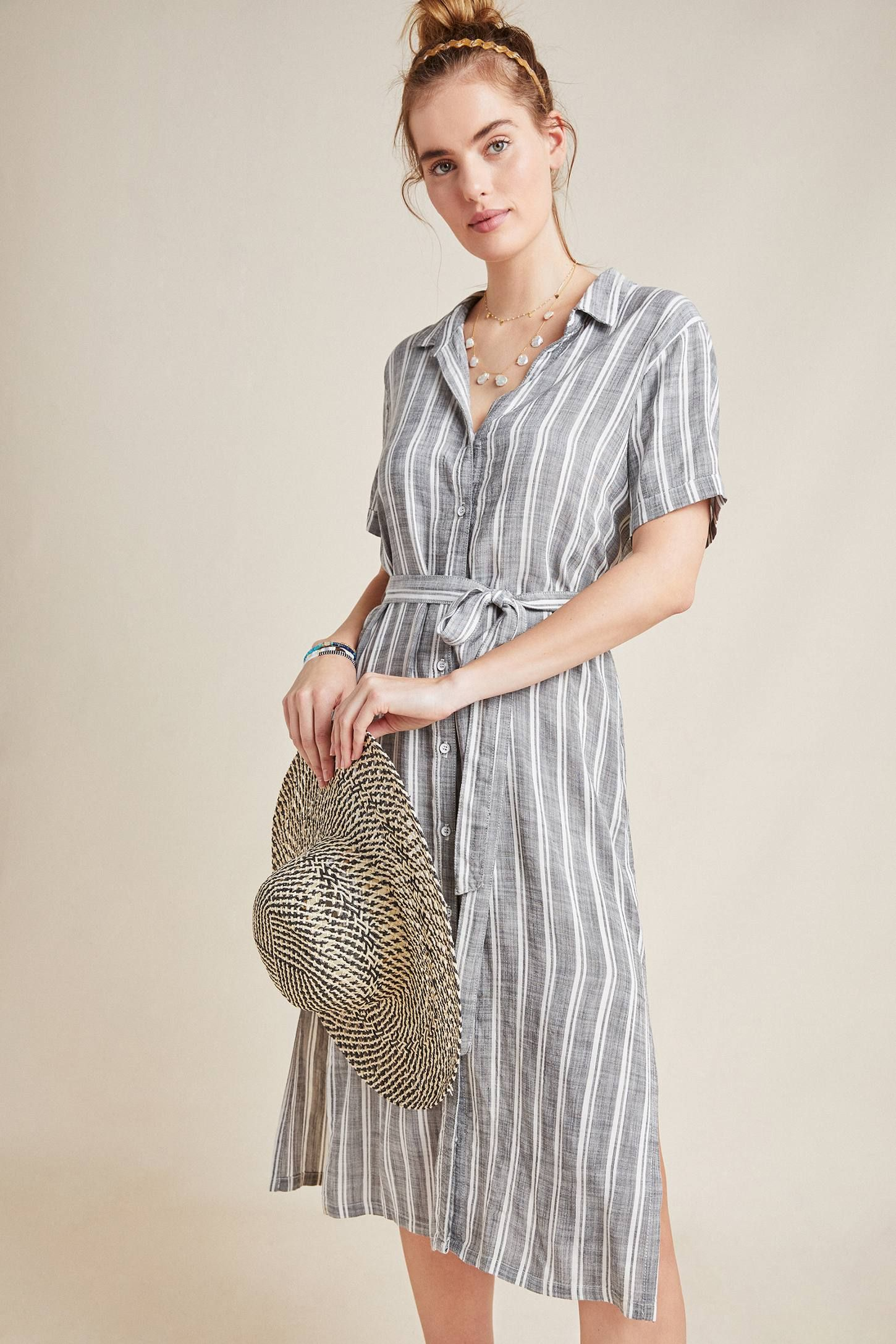 857e1f89bef Cloth & Stone July Striped Shirtdress in 2019 | clothing time ...
