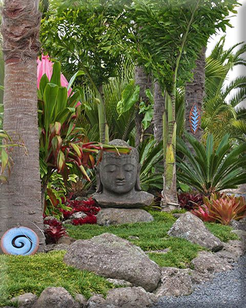 Tropical Home Garden Design Ideas: Tropical Garden Idea's
