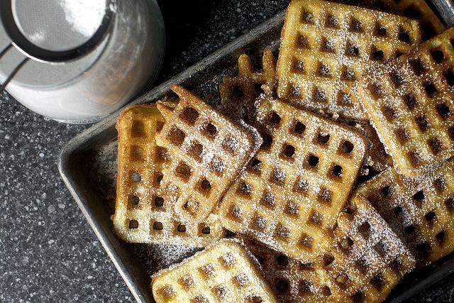 Essential Raised Waffles Waffle Recipes Smitten Kitchen Savory Waffle Recipe