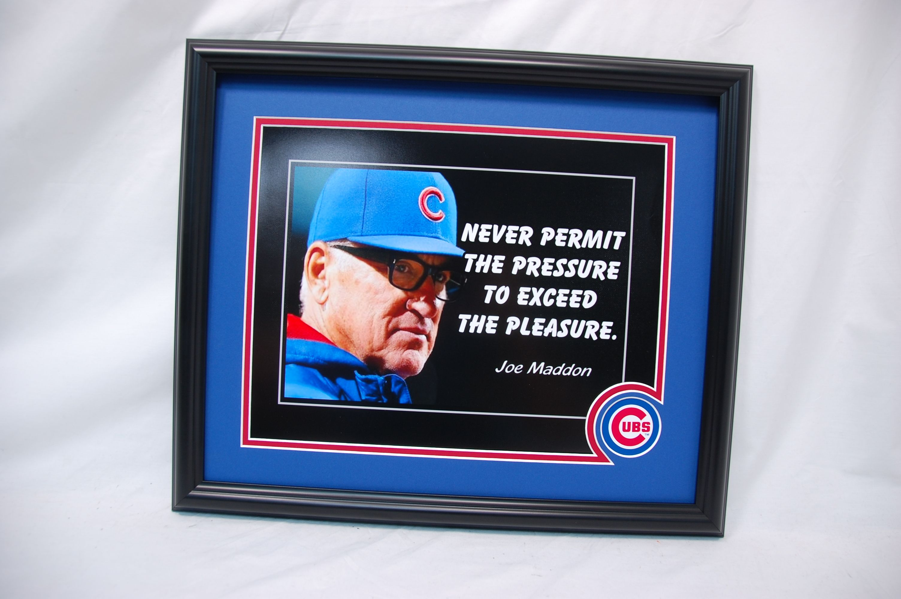 X Chicago Cubs Customs Sports Picture Frame