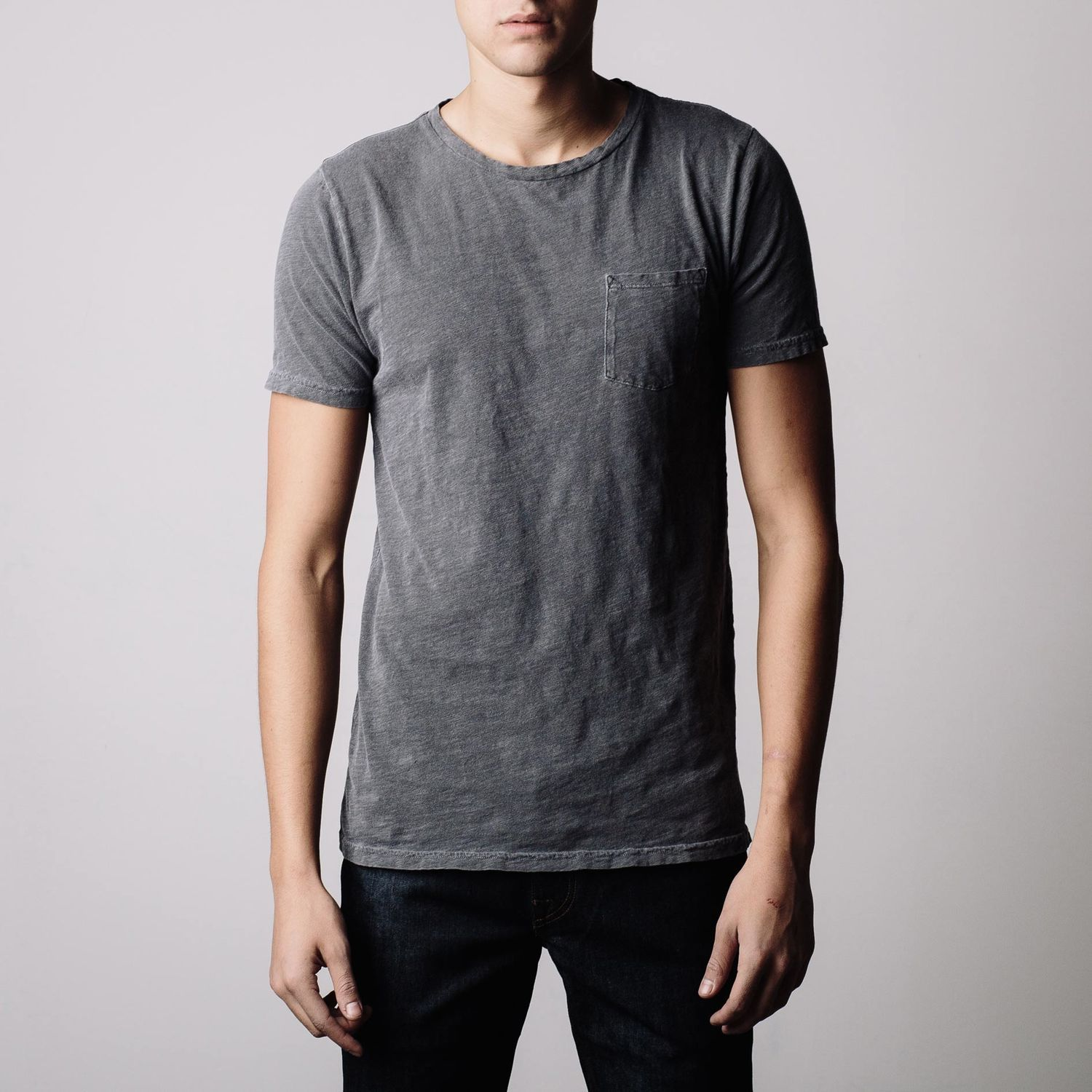 Mens Crew Neck In Charcoal | Clothes, gear, cool stuff ...