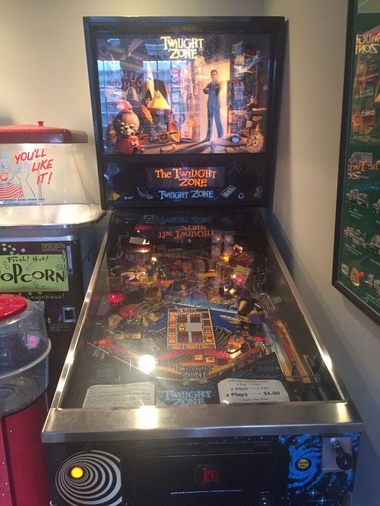 eBay #Sponsored ALL ORIGINAL Twilight Zone Pinball Machine