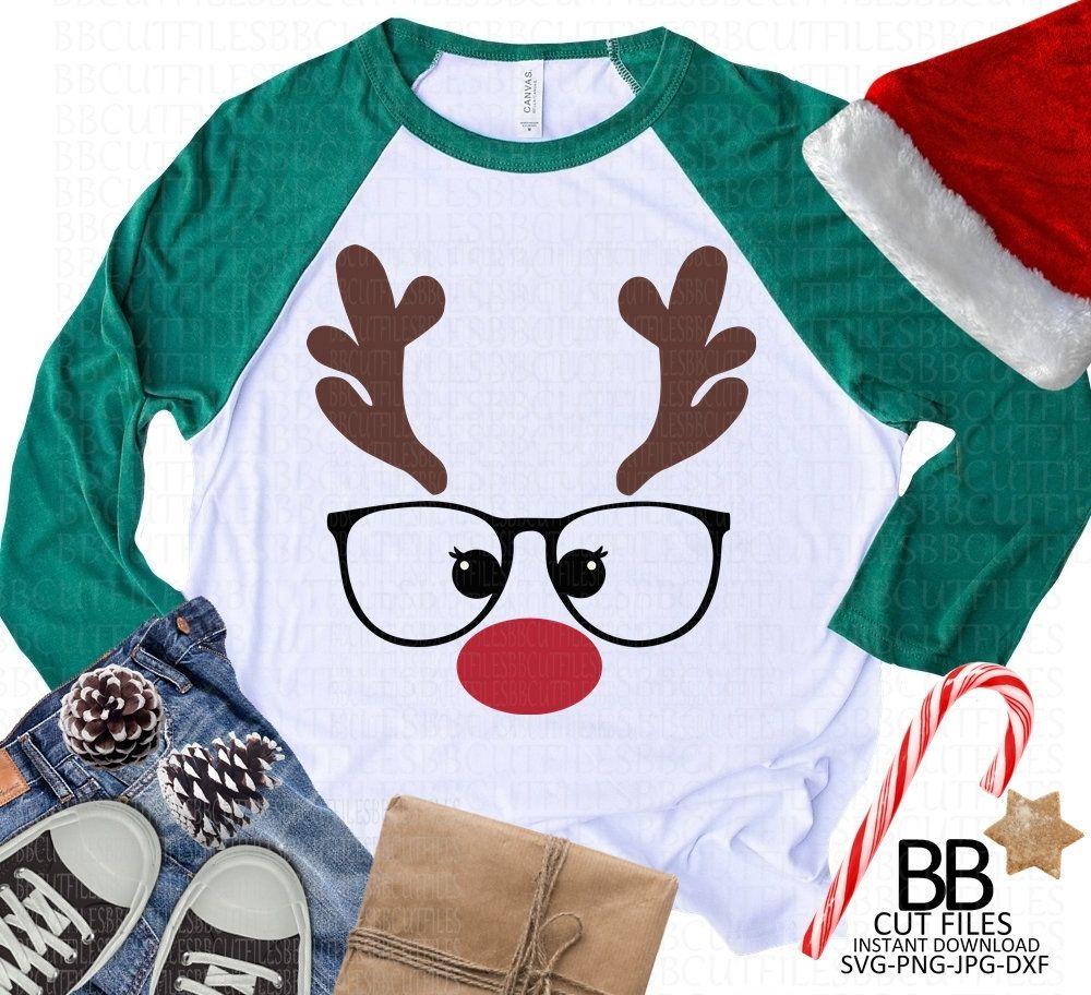 Rudolph Reindeer Svg Christmas Reindeer Svg Png Jpg Dxf Funny Reindeer Svg Instant Download Kids Chri Boys Valentine Shirt Valentines For Boys Valentines Shirt