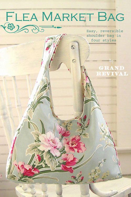 Free Fabric Handbag Patterns Northdixie Designs Some Market Bag