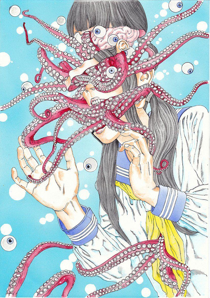 「Manga Genre HORROR」おしゃれまとめの人気アイデア|Pinterest|Rai Oliveira