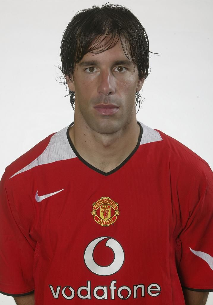 competitive price 798d1 da51b Ruud van Nistelrooy, Manchester United | Red Devils ...