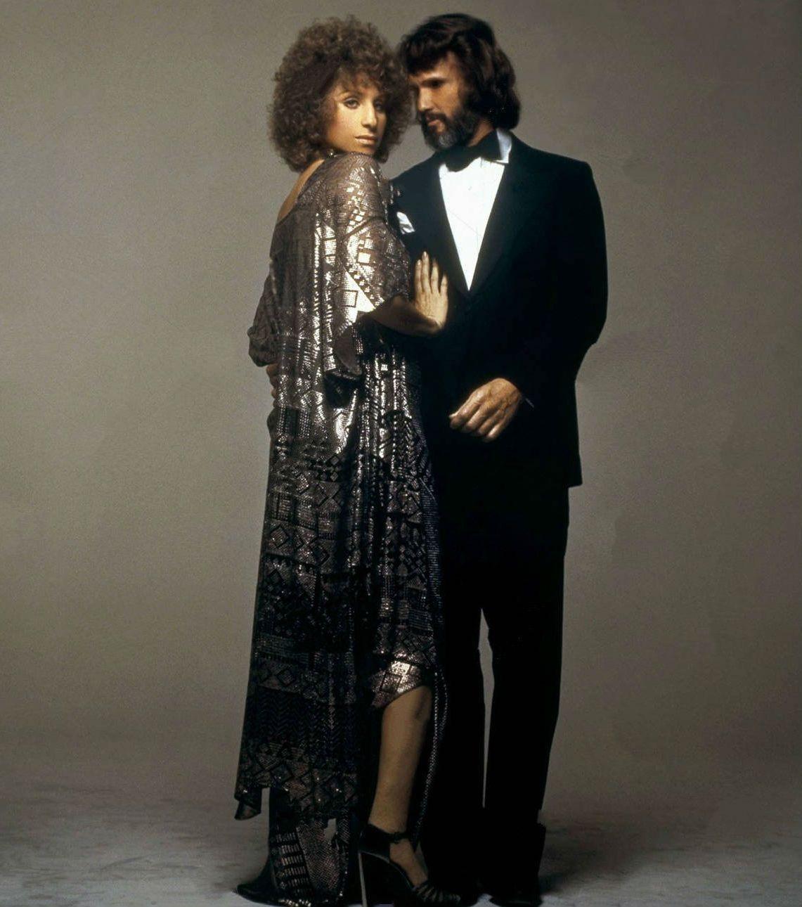 Barbra Streisand Kris Kristofferson In A Star Is Born With