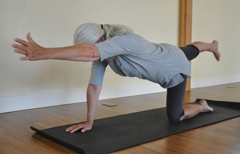 6 flexible yoga poses for seniors to improve balance with