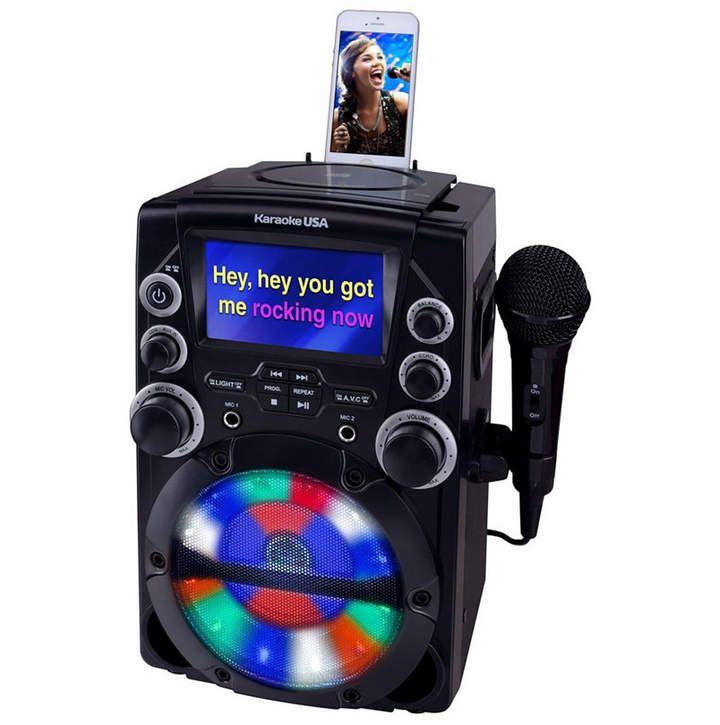 CDG Karaoke System with 4.3 Color TFT Screen #karaokesystem