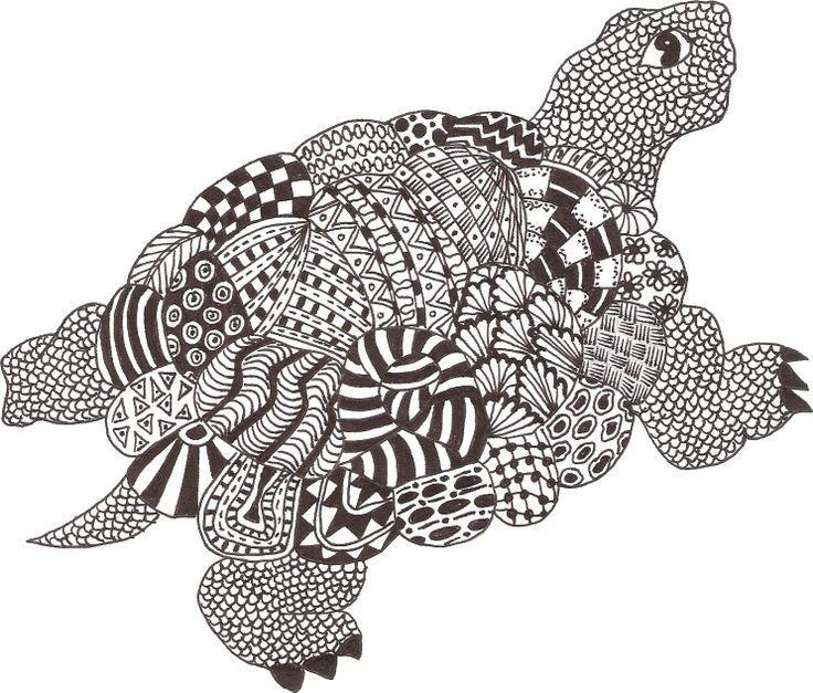 Zentangle Art Ideas Animals