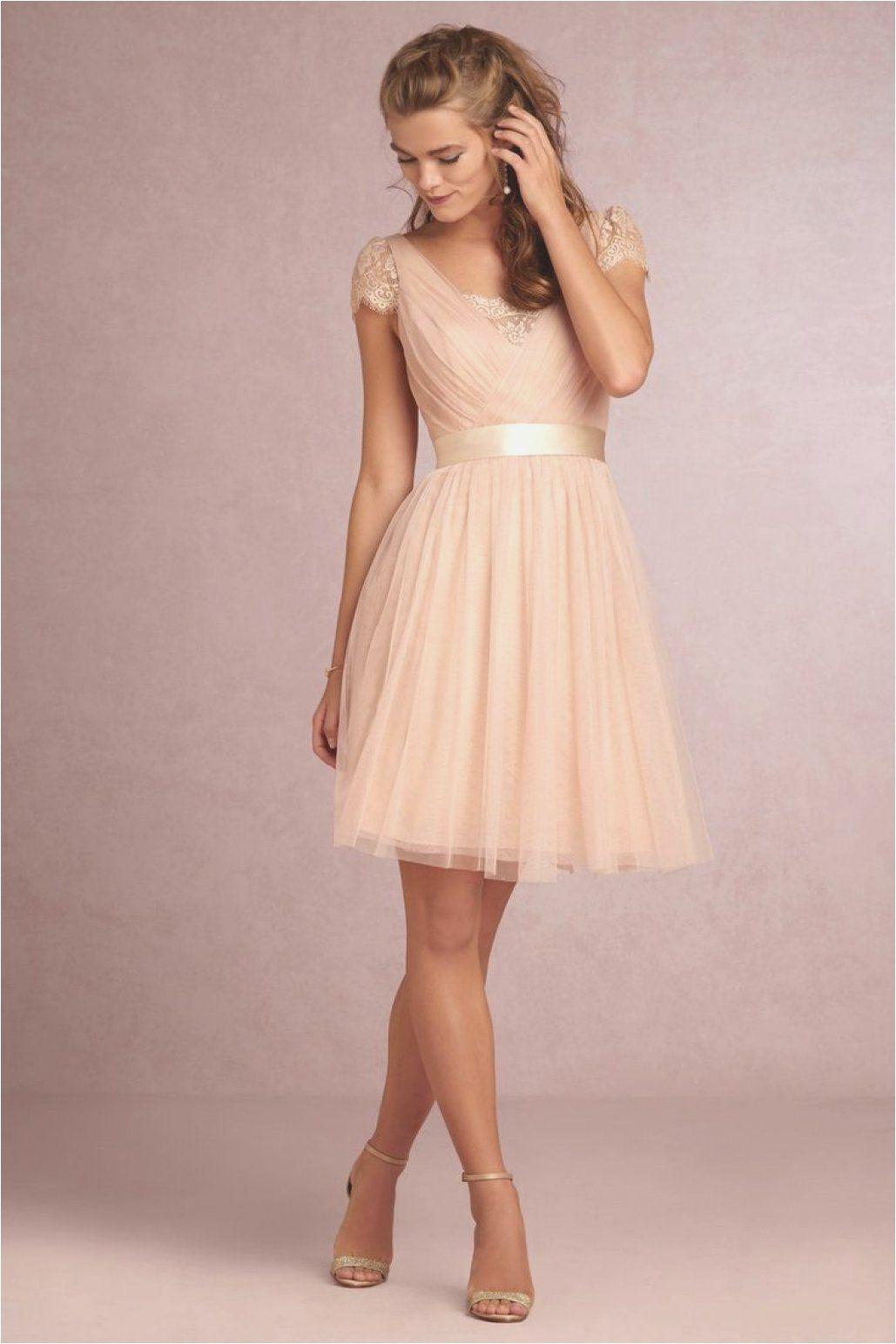 kleid für hochzeit als gast a linie | rosa kleid