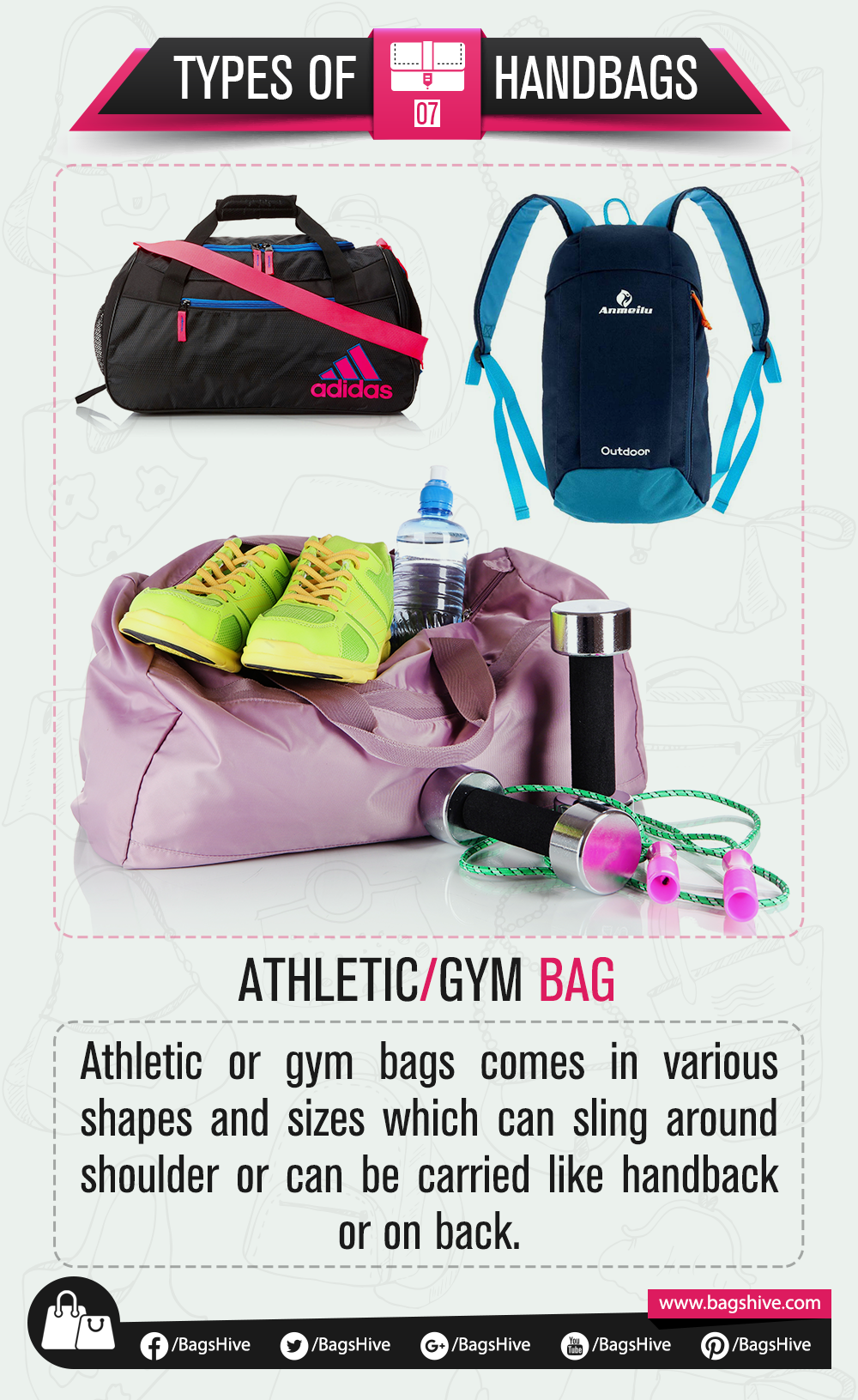 Types Of Handbags Athletic Gym Bags 7 Athletic Or Gym Bags Comes
