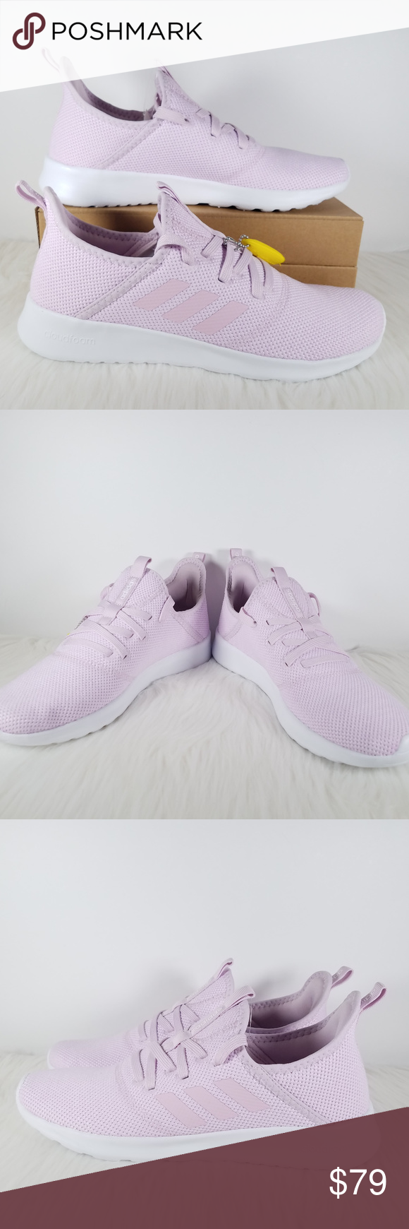 NEW Adidas Cloudfoam Pure Aero Pink Womens Running Brand New