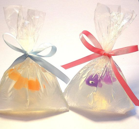 25 Pet Fish In A Bag Wedding Favors   Baby Shower, Tropical Theme,  Underwater Theme, Carnival Theme, CUSTOM MADE / Wrapped And Ready To Give