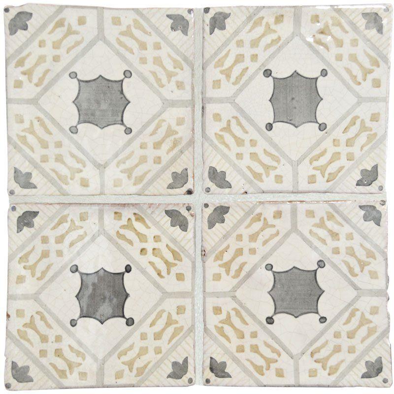 Taking Inspiration From 19th And 20th Century Sicilian Baldosa Style Tiles Marsala Pays Homage To The Lively Glazed Ceramic Tile Glazed Ceramic Ceramic Tiles