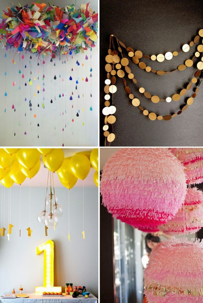 10 Party Pretties Diys Party time and Birthdays