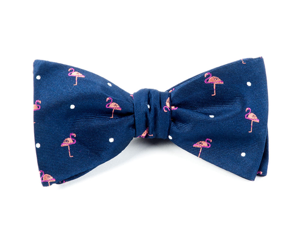 PINK FLAMINGO - NAVY | Ties, Bow Ties, and Pocket Squares ...