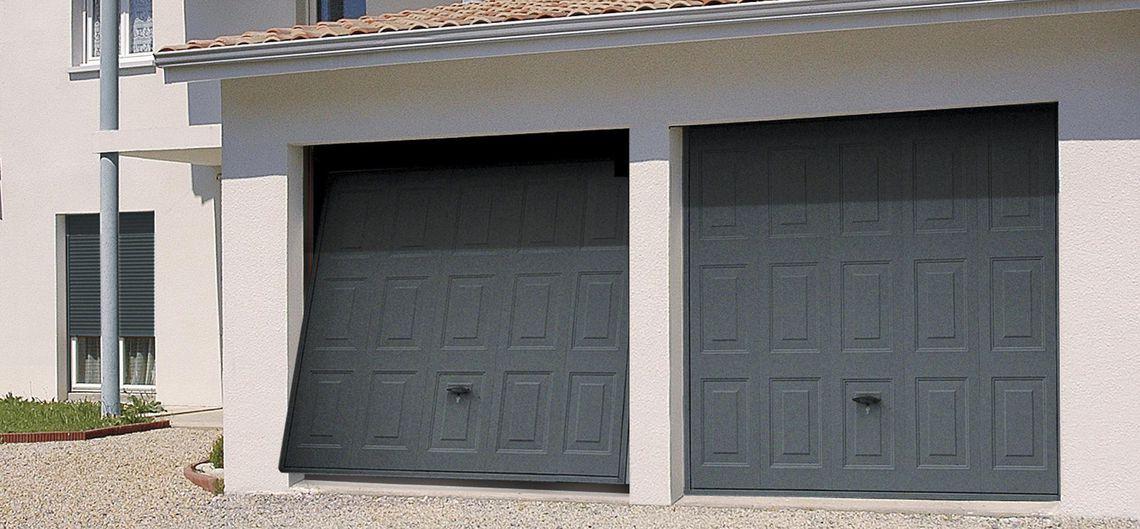 Porte De Garage Basculante Dl102 Novoferm Portail Coulissant Serrure Portail Serrure Portail Coulissant