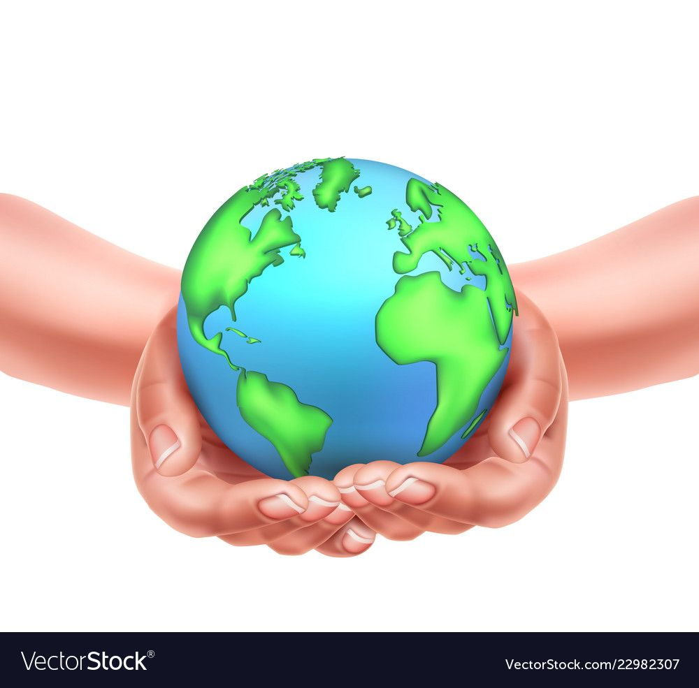 Realistic Hands Holding Planet Earth World Earth Day Holiday Poster Environment And Ecology Global Protection World Earth Day Earth Illustration Earth Poster