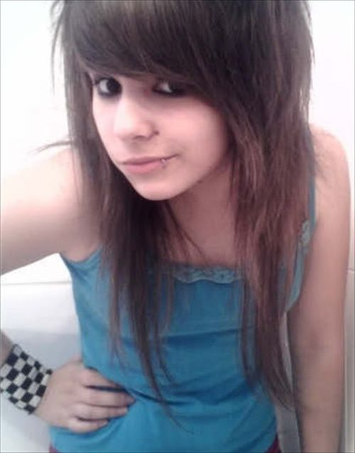 cutest emo girl hairstyles trend