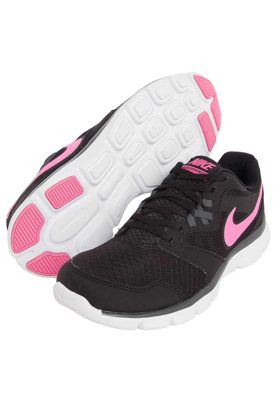 c407437d826fb Tênis Experience Nike Flex Experience Tênis RN 3 MSL Preto Compre Agora  Dafiti 58fab7