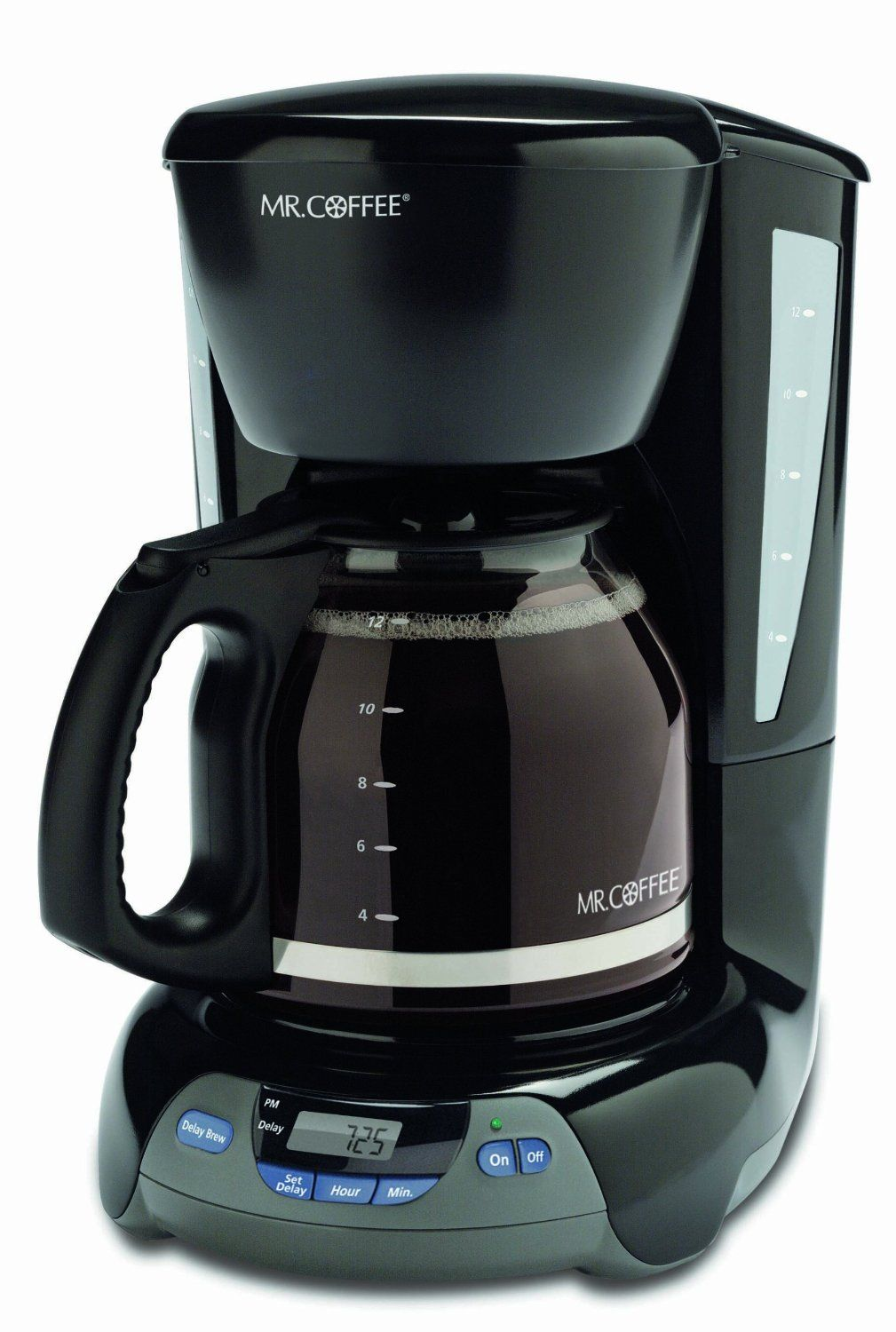Mr. Coffee VBX23 12-Cup Programmable Coffeemaker, Black ...