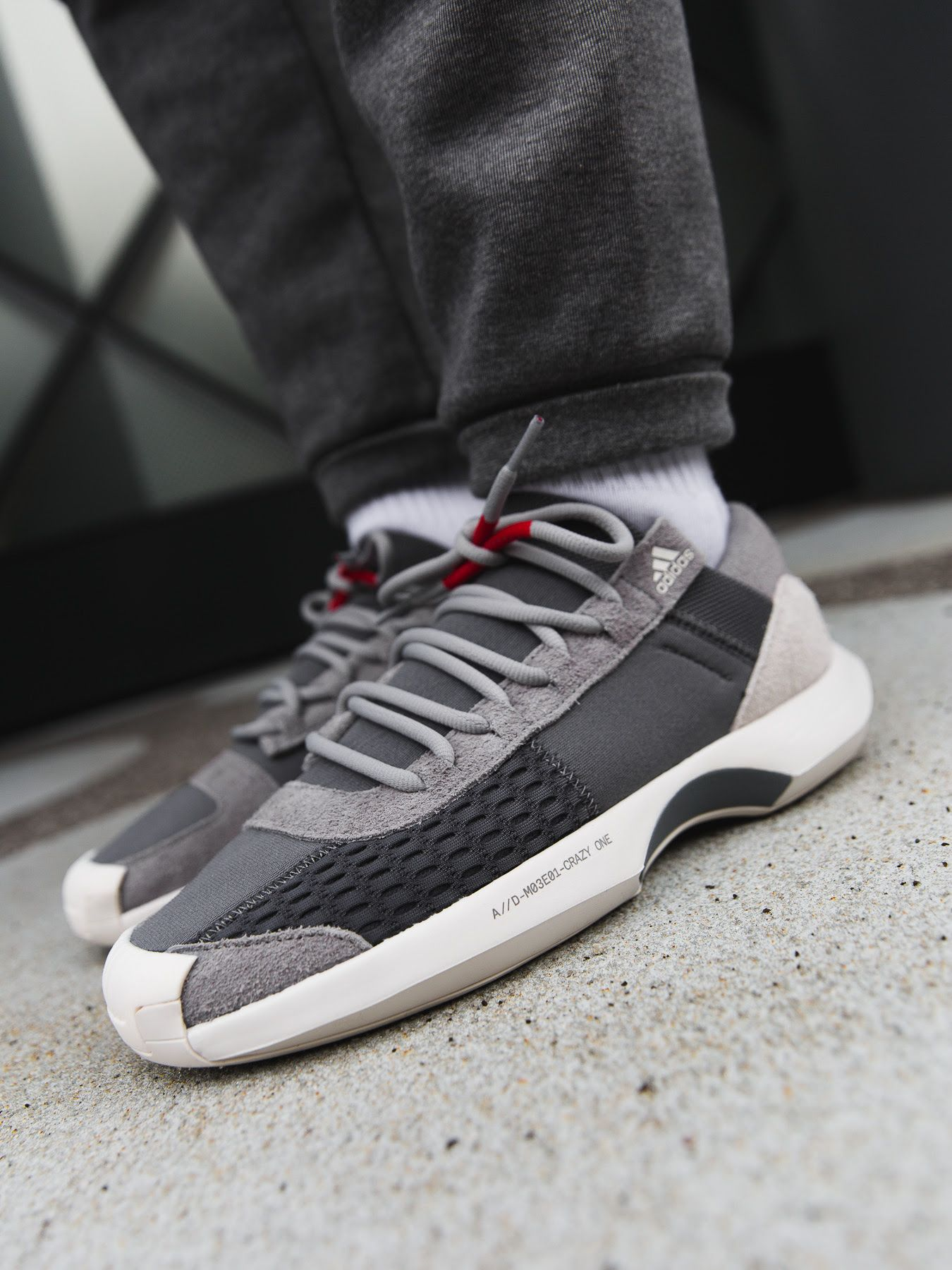 check out 3b895 b9371 On-Foot adidas Consortium Crazy 1 ADV AD