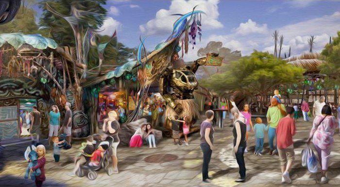 Pongu Pongu Pandora The World of Avatar Walt Disney World