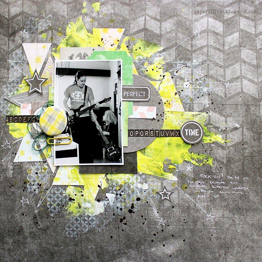 Riikka Kovasin - Paperiliitin: Perfect Time - 7 Dots Studio