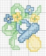 Schemi punto croce gratis neonati un bel ciuccio bimbi for Ricami punto croce neonati