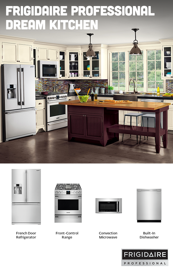 The Frigidaire Professional Collection Features Stainless Steel Appliances That Offer Powerful Performance And Consistent Results With A Conte Kitchen Remodel