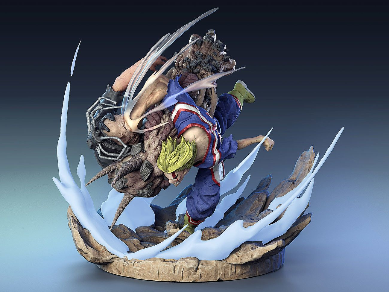 Character Sculpting With Claudio Saavedra Anime Figures