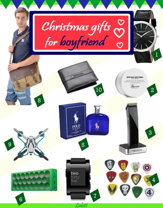 top christmas gift ideas for boyfriend 2017